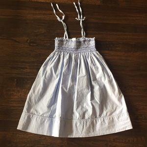Jacadi Smocked Beach Dress